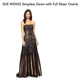 NWT Sue Wong Evening Gown Size 6